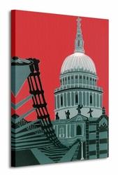 St. Pauls Cathedral - Obraz na płótnie