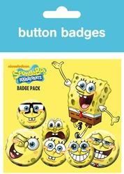 Spongebob Expressions - zestaw 6 przypinek