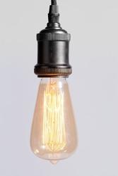 Its about romi :: lampa wisząca metalowa riga czarna