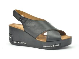 Sandały ravini 0030-1081-301 czarny