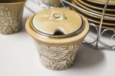 Veroni rustica komplet kawowy 15 el. na wieszaku