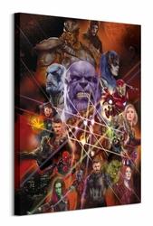 Avengers: Infinity War Bhaterowie - obraz na płótnie