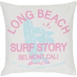 Dekoracyjna poduszka z napisami belmont 45x45