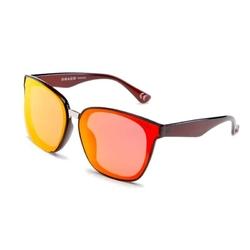 Damskie okulary kocie oko czerwona soczewka drd-11c4