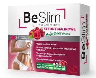 Be slim ketony malinowe x 60 tabletek