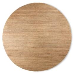 Hkliving okrągły tkany z konopi dywan ø: 250cm ttk3061