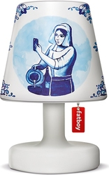 Abażur Cooper Cappie do lampy Edison the Petit Delfts blauw 2.0