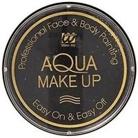 Farba do twarzy czarna 15g aqua makeup 10ml