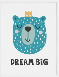 Plakat Dream Big 70 x 100 cm