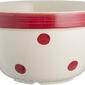 Miseczka spots  stripes czerwone kropki 900 ml
