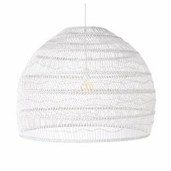 HK Living :: Wiklinowa lampa wisząca, biała, rozmiar L - 80