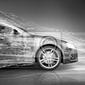 Obraz pojęcie abstrakcyjne samochód