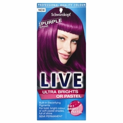 Schwarzkopf, Live, 0-94 Purpurowy Punk,krem koloryzujący do włosów