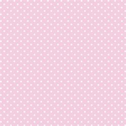 Ozdobny filc z nadrukiem 30x30 cm- różowy j. kropk - RJK