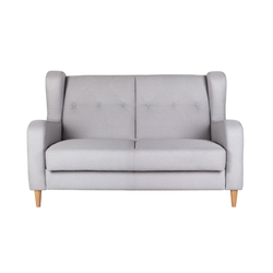 Sofa dwuosobowa Lyon szara