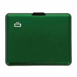 Portfel Aluminiowy Ogon Designs Big Stockholm - Green RFID Protect