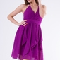 Evalola sukienka intensywny fiolet 58005-1