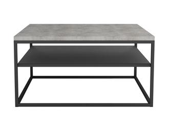 Industrialny stolik gala  blat beton