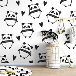 Pandaland - tapeta ścienna , rodzaj - tapeta flizelinowa laminowana