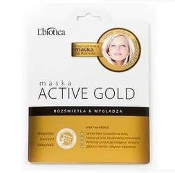 Lbiotica maska active gold na tkaninie 25g