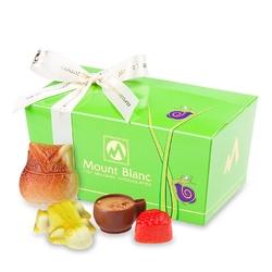 Ballotin green ślimak no.3 pralinki dla dzieci