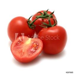 Board z aluminiowym obramowaniem pomidory