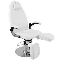 Fotel podologiczny hydrauliczny azzurro 713a biały