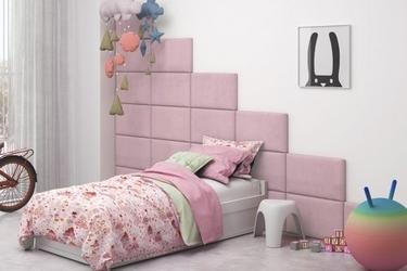 Panele tapicerowane dla dziewczynki italia 60cm x 30cm na wezgłowie zagłówek