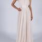 Soky soka  sukienka beżowa 60002-1