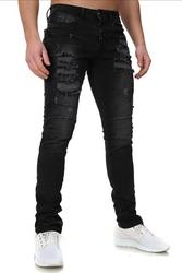 Crsm spodnie jeansowe z dziurami - 16001-2