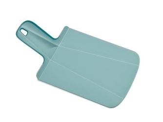 Deska do krojenia Chop2Pot Plus mini niebieska pastelowa