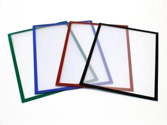 Ramka magnetyczna 232x52mm różne kolory - 5 szt