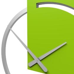 Zegar ścienny karl calleadesign lniany 10-124-11