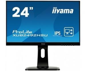 IIYAMA 24 XUB2492HSU- SPEAKERS,ULTRASLIM,USB
