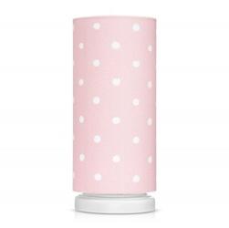 Lampka nocna ze ściemniaczem - lovely dots pink