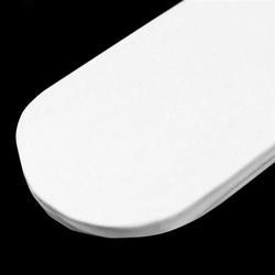 Papierowy pompon 15 cm - biały - BIA