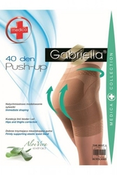 Rajstopy gabriella 128 push up medica 40 den