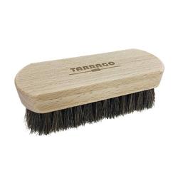 Wooden brush tarrago horse hair szczotka do butów 12 cm