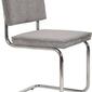 Zuiver :: krzesło ridge rib szare 32a