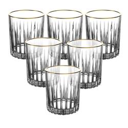 Szklanki do whisky  wody altom design venus gold 310 ml komplet 6 sztuk