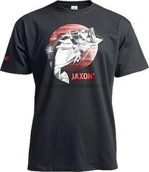 Koszulka JAXON Czarna z rybą rozmiar XXL