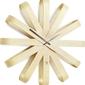 Zegar ribbonwood naturalny