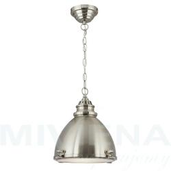 Lampa wisząca 1 stal szkło