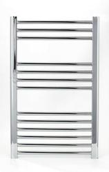 Grzejnik łazienkowy wetherby - elektryczny, wykończenie proste, 400x800, chromowany