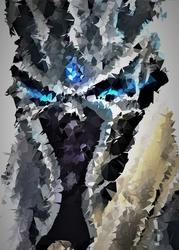 Polyamory - lich king, warcraft - plakat wymiar do wyboru: 21x29,7 cm