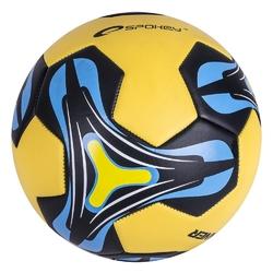 Piłka nożna spokey runner 835712 żółto-niebieski