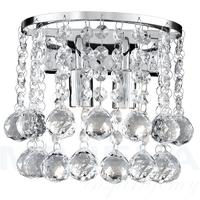 Hanna kinkiet 2 chrom kryształ