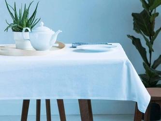 Obrus na stół bawełniany altom design ecru  kremowy 160 x 240 cm