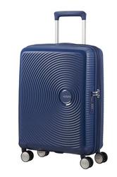 Walizka kabinowa american tourister soundbox 55 cm powiększana - navy blue