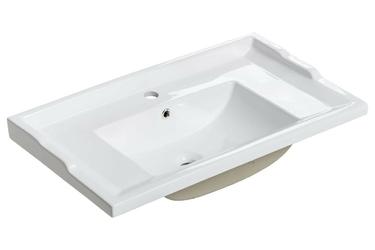 Szafka łazienkowa z umywalką vedik dąb riviera